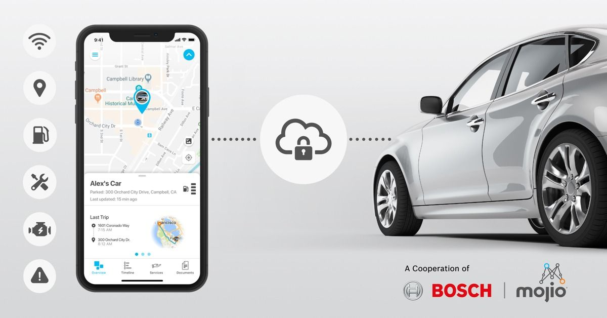 Bosch and Mojio Debut Integrated Connected Mobility Solution