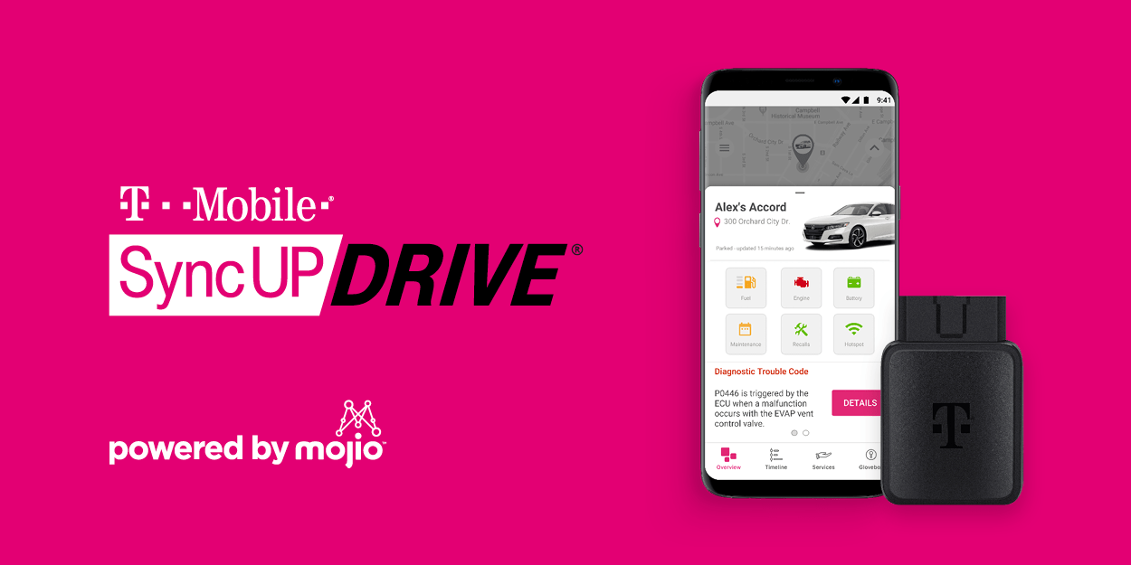 T-Mobile SyncUP DRIVE Gets a Fresh Upgrade: New Features, Same Price