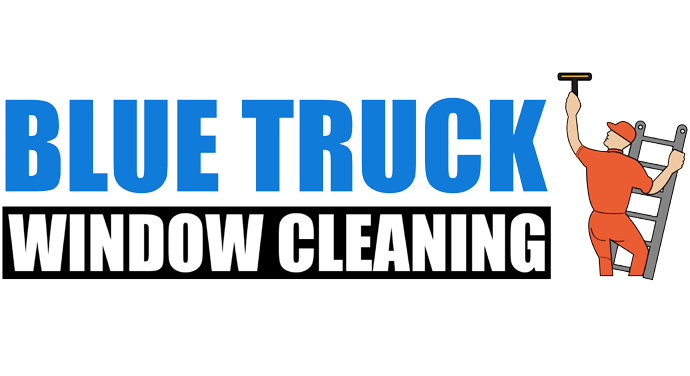 Blue Truck Window Cleaning