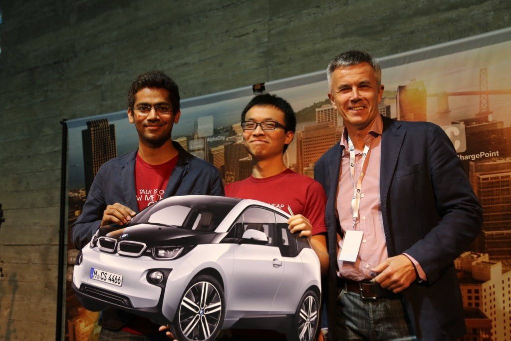Mojio-BMW-Hack-the-Drive-Grand-Prize-Winners