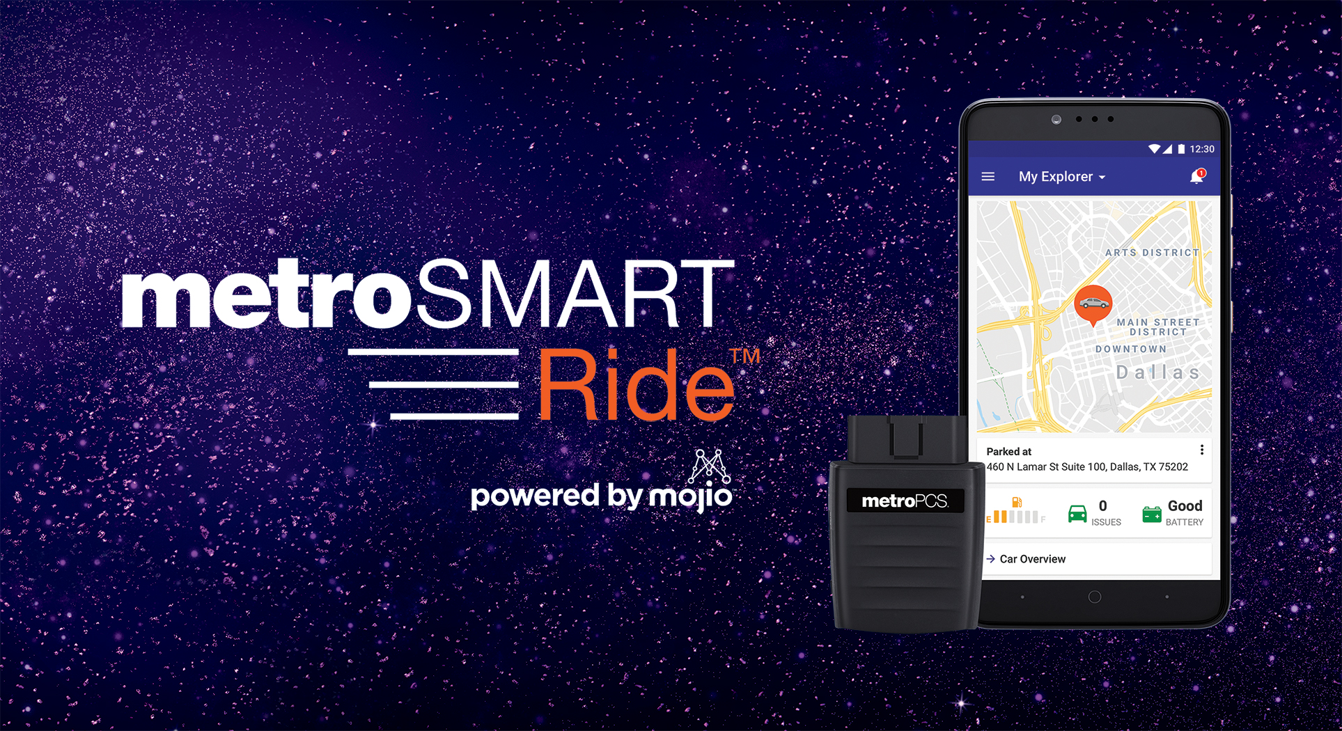 MetroSMART Ride powered by Mojio for MetroPCS